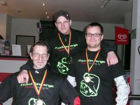 1. Thomas Brandt, 2. Torsten Ickenroth, 3. Günther Wehrheim