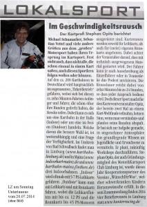 LZam Sonntag 20.07.2014 Bericht